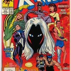 I checked out Uncanny X-Men #253 Magneto Leaves Team Marvel Comics (1989) on Lish, $1.50
