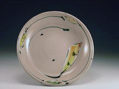 Linda Arbuckle Pottery | Linda Arbuckle 2005 Bowl with Circling Leaves | Flickr - Photo Sharing ...