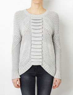 Sass & Bide Moves Like Hendrix cable knit jumper