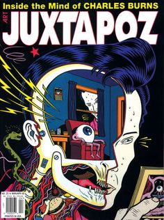 Dope Comix cover by Charles Burns. Dope Comix cover by Charles Burns. Dope Comix cover by Charles Burns. Underground Comics, Comic Book Covers, Comic Books Art, Comic Art, Illustrations, Illustration Art, Heavy Metal, Science Fiction, Bristol Board