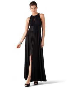 White House Black Market Beaded Gown -- love this party dress!