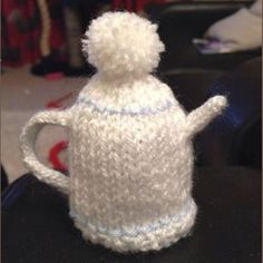 Innocent Smoothies Big Knit Hat Patterns - Teapot