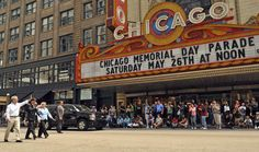 chicago memorial day parade route map
