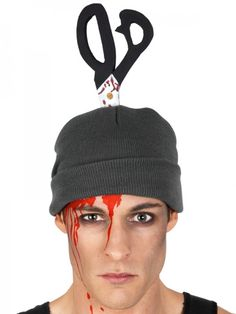 Let's Party With Balloons - Beanie with Scissors Grey, $17.00 (http://www.letspartywithballoons.com.au/beanie-with-scissors-grey/)