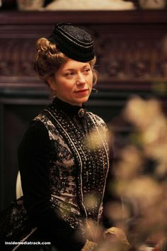 Clémence Romanis - Branka Katic in The Paradise, set in the 1870s (BBC TV series 2012-2013).