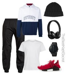 """• MENS AUTUMN LUXE 2"" by thebestkeptsecret on Polyvore featuring Vetements, Stussy, Dsquared2, Beats by Dr. Dre, Skagen, adidas, men's fashion and menswear"