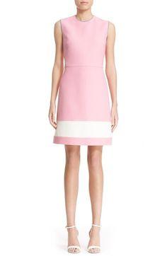 Fendi Sleeveless Wool & Silk Gazar Sheath Dress available at #Nordstrom