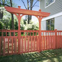 Craftsman Fence Ideas, Pictures, Remodel and Decor