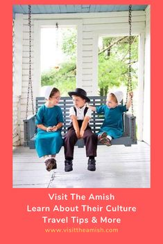 The Amish raise their children to be honest, humble and obedient. A strong community of like-minded adults and children provide the foundation for Amish life and culture. Do Amish boys know that no… Amish Recipes, Culture Travel, Raising, Travel Tips, Foundation, Community, Learning, Children, Strong