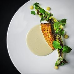 Turbot - grilled lettuce - lemon by @bryanfrancisco1 - beautiful shot by @raisfoto #cookniche #treetop #treetopadventure #theartofplating #lovefood #happycookin #food #foodart #foodporn #beautiful #treetopteam #raisfoto #chefstalk #cheflife #chef #bryanfrancisco #gastroart #chefstalk #chefsofinstagram #foodpics #foodpic #foodphotography #instafood #instagram #truecooks #foodstarz