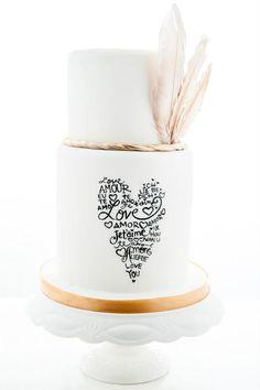 Ideen für Hochzeitstorten 2015   Friedatheres.com