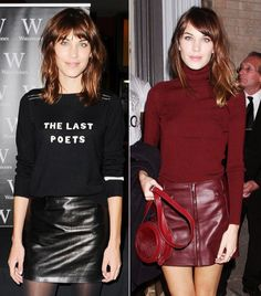 Alexa Chung's 9 Winter Style Essentials via @WhoWhatWear