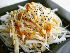 大根のごま生姜サラダの画像