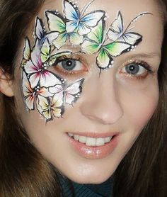 Eye Dare You - Adult Facepainting - Gallery 1