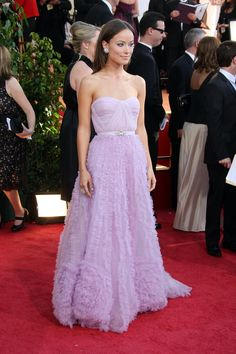 Olivia Wilde in Reem Acra Dress Up Outfits, Grad Dresses, Fashion Outfits, Strapless Dress Formal, Formal Dresses, Fashion Today, Red Carpet Dresses, Purple Dress, Light Purple