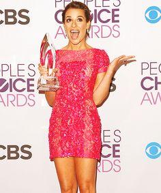 Congrats Lea I love her dress