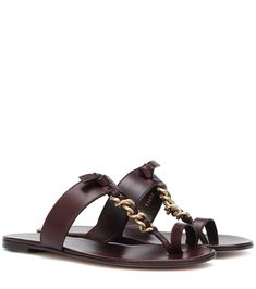 Shop Argo leather sandals presented at one of the world's leading online stores for luxury fashion. Leather Espadrilles, Leather Ballet Flats, Patent Leather Pumps, Leather Ankle Boots, Leather Sneakers, Calf Leather, Brown Leather, Metallic Sandals, Suede Sandals