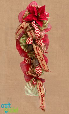 Come take a look at our newest tutorial video on how to create a teardrop-shaped Christmas swag! This just under six minute tutorial will take you step by step through everything you need to know to create this merry holiday swag. You will learn how to create volume on a work garland as well as…