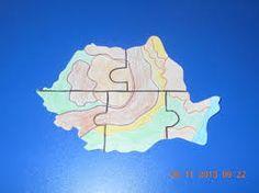 Imagini pentru fise de lucru pentru ziua romaniei 1 Decembrie, Tumblr Cartoon, Romania, Puzzle, Diagram, Map, School, Crafts, Art