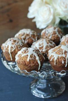 Cinnamon Streusel Muffins - made with Greek yogurt