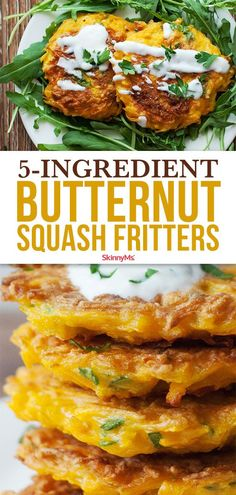 Our Butternut Squash Fritters recipe is quick and easy. Make sure to prepare a big stack of them thoughit's impossible to eat just one! Vegetable Recipes, Vegetarian Recipes, Healthy Recipes, Curry Recipes, Baby Food Recipes, Cooking Recipes, Squash Fritters, Comfort Food, Vegetable Dishes