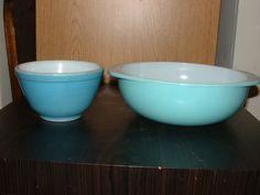 2 Vintage Blue tazones de fuente de Pyrex – 2 Pyrex Tazones para mezclar | Cerámica y vidrio, Vidrio, Cristalería | eBay!