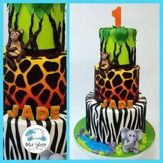amazing birthday cakes nj safari cake