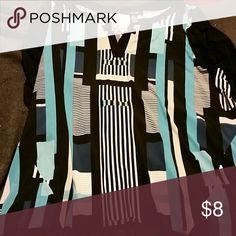Dress top Flattering shape. Nice dress top. Style & Co Tops Blouses
