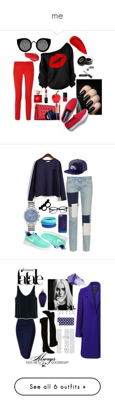 """""""me"""" by audhayfi on Polyvore featuring Kate Spade, Tony Moly, Michael Kors, Lipstick Queen, Estée Lauder, Urban Decay, Gucci, MAC Cosmetics, NARS Cosmetics and Keds"""
