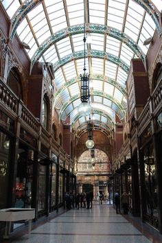 Victoria quarter arcades, Leeds Yorkshire