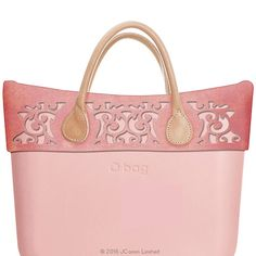 Perforated Suede Trim - Pink - O bag Classic Accessory
