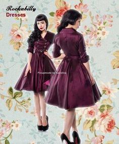 Vintage kleid rockabilly