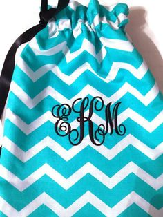 e59ea33d0b37 Excited to share this item from my #etsy shop: Grip Bag, Monogrammed Grips