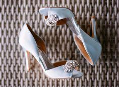something blue embellished wedding shoes ~  we ❤ this! moncheribridals.com