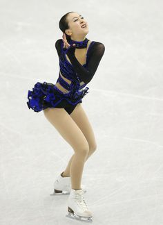 Mao Asada of Japan compete in the ladies's free skating during day three of the ISU Grand Prix of Figure Skating Final 2013/2014 at Marine Messe Fukuoka on December 7, 2013 in Fukuoka, Japan.