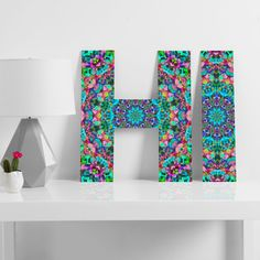 Lisa Argyropoulos Inspire Oceana Decorative Letters | DENY Designs Home Accessories