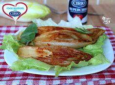 Indivia in padella | Cirio @cristygiampy  #foodblogger #pomodoro #ricetta #recipes #tomato #recipe #italianrecipe #Indivia #supercirio