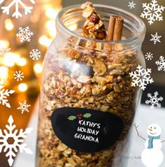 Homemade Holiday Granola Recipes. Plus 5 Gifting Tips!