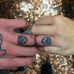 "Shower each other in ""diamonds."" 