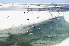 Mesclando água e areia, atletas tiveram que mostrar estratégia, técnica e muito preparo físico.