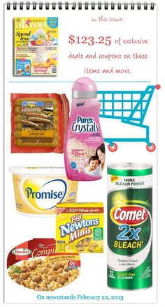 All You Coupon Index: What's Inside Our March Issue