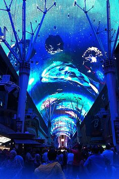 Las Vegas Fremont laser light show