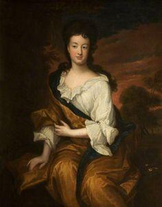 """""""Frances Legh of Bruch"""" by Sir Godfrey Kneller, 1702"""