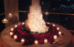 Wedding cake strepitosa sulla terrazza!