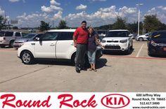 https://flic.kr/p/Ln6TzQ | Congratulations Barbara on your #Kia #Soul from pedro vazquez at Round Rock Kia! | deliverymaxx.com/DealerReviews.aspx?DealerCode=K449