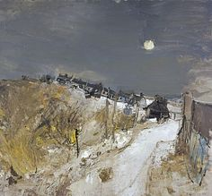 Catterline in Winter - Joan Eardley