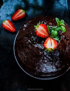 Fast chocolate cake