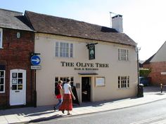Latimer Street - This used to be the Latimer Arms Pub - now The Olive Tree