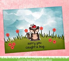 "Jessica  is back today to share a whimsical get well card! This may be a popular card category with all the ""bugs"" floating around this win..."