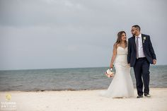 Cherrie is radiant wearing Sophia Tolli Amira - Style Y11625 for her destination wedding in Cancun